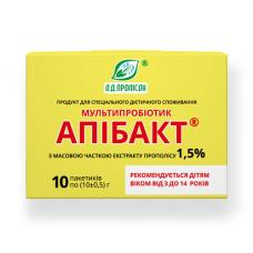 Мультипробиотик Апибакт 1.5% экстракта прополиса