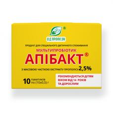 Мультипробиотик Апибакт 2.5% экстракта прополиса